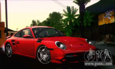Porsche 997 Turbo Tunable for GTA San Andreas