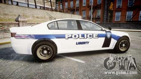 GTA V Cheval Fugitive LS Liberty Police [ELS] Sl for GTA 4 left view