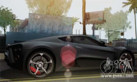 Zenvo ST1 v1.2 Final HD for GTA San Andreas left view