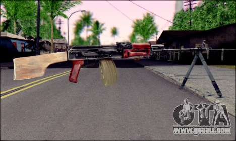 RPK-74 from ArmA 2 for GTA San Andreas second screenshot