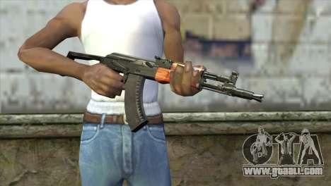 AK-105 for GTA San Andreas third screenshot