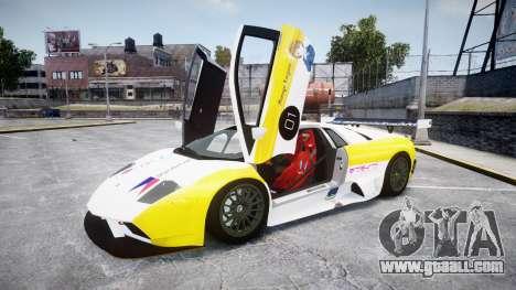 Lamborghini Murcielago GT1 Hanayo Koizumi for GTA 4 inner view