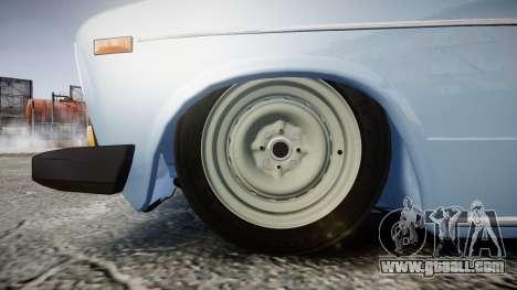 VAZ-2106 (Lada 2106) for GTA 4 back view