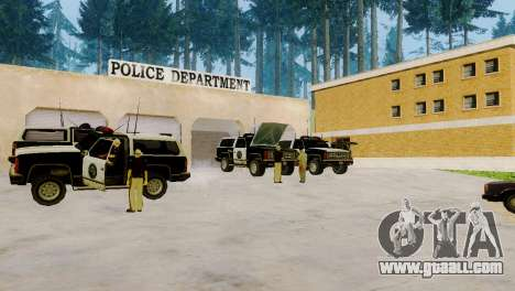 The revival of all police stations for GTA San Andreas forth screenshot