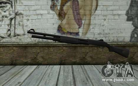 Benelli M3 Bump Mapping v4 for GTA San Andreas