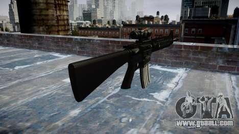 Rifle M16A4 ACOG for GTA 4 second screenshot