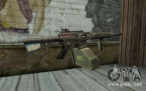 Gun Ares Shrike for GTA San Andreas second screenshot