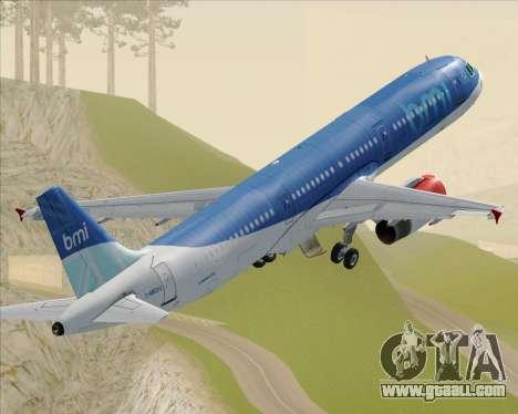 Airbus A321-200 British Midland International for GTA San Andreas