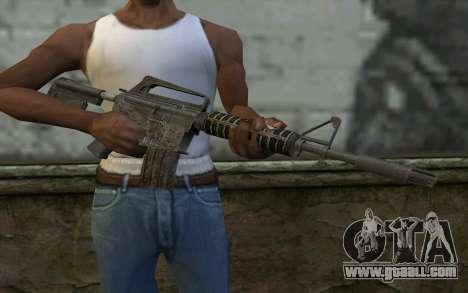 CAR-15 from Battlefield: Vietnam for GTA San Andreas third screenshot