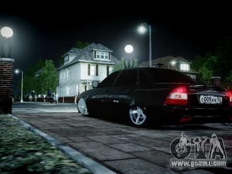 VAZ 2170 for GTA 4 back view