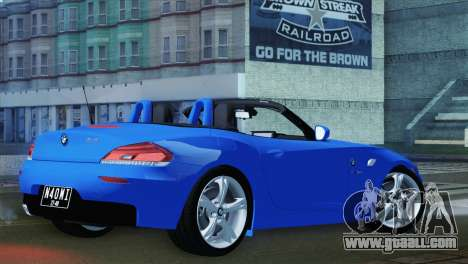 BMW Z4 sDrive28i 2012 Stock for GTA San Andreas left view