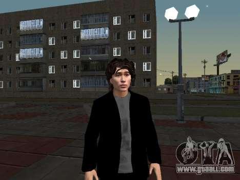 Viktor Tsoi for GTA San Andreas second screenshot