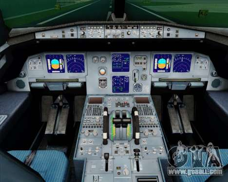 Airbus A321-200 TAP Portugal for GTA San Andreas interior