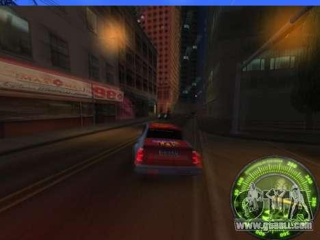 Speedometer HITMAN for GTA San Andreas fifth screenshot