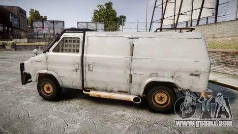 Kessler Stowaway Rusty for GTA 4 left view