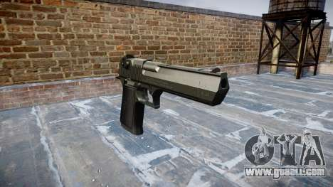 Gun IMI Desert Eagle Mk XIX Black for GTA 4