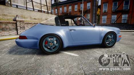Porsche 911 Carrera 4 1989 for GTA 4 left view