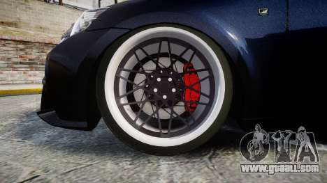 Lexus IS 350 F-Sport for GTA 4 back view