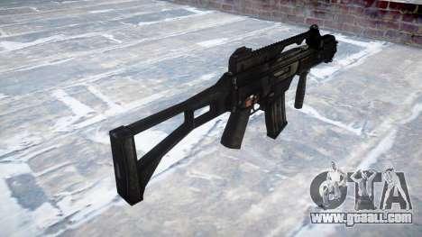 Assault rifle HK G36C for GTA 4 second screenshot