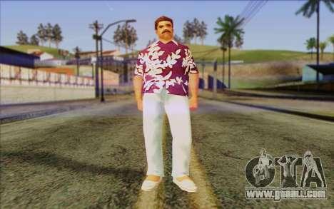Diaz Gang from GTA Vice City Skin 1 for GTA San Andreas