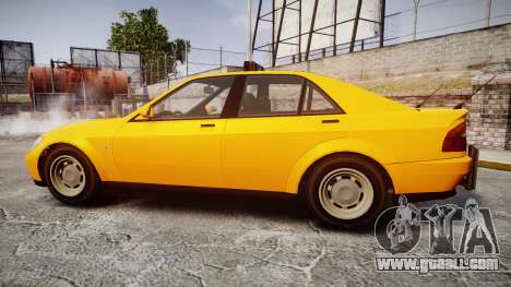 Karin Sultan Taxi for GTA 4 left view