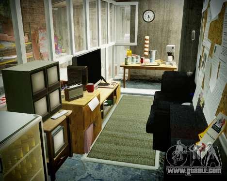 Garage with new interior Alkaline for GTA 4
