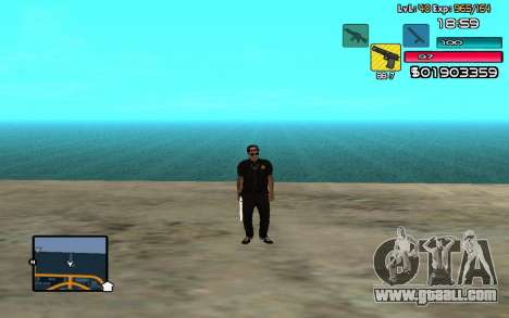 C-HUD by SampHack v.14 for GTA San Andreas second screenshot