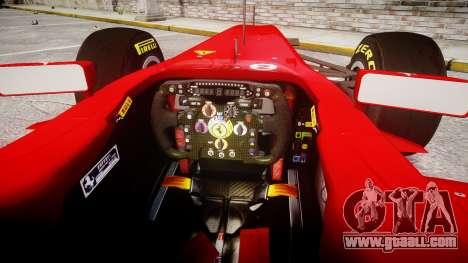 Ferrari 150 Italia Track Testing for GTA 4 back view