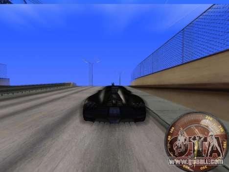 Speedometer HITMAN for GTA San Andreas forth screenshot