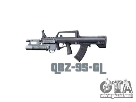 Machine QBZ-95-GL icon3 for GTA 4 third screenshot