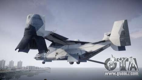 VTOL Warship PJ3 for GTA 4 left view