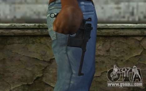 Mauser C96 v2 for GTA San Andreas third screenshot