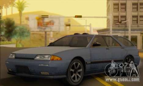 GTA 5 Stratum for GTA San Andreas inner view