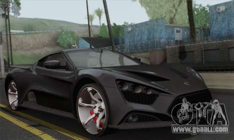Zenvo ST1 v1.2 Final HD for GTA San Andreas