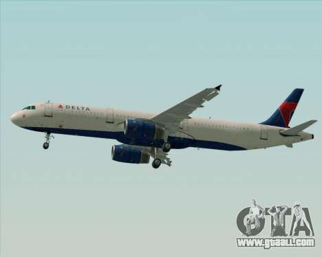 Airbus A321-200 Delta Air Lines for GTA San Andreas engine