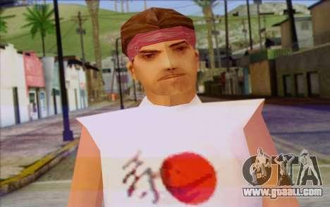 Cuban from GTA Vice City Skin 1 for GTA San Andreas third screenshot