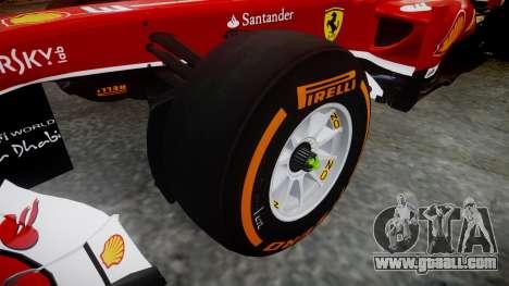 Ferrari F138 v2.0 [RIV] Alonso THD for GTA 4 back view