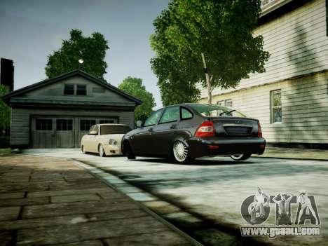 VAZ 2172 for GTA 4 left view