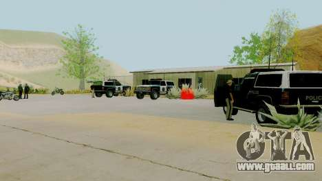 The revival of all police stations for GTA San Andreas tenth screenshot