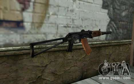 AKS-74U with PBS-5 for GTA San Andreas second screenshot