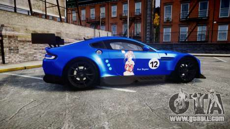 Aston Martin Vantage GTE Nico Yazawa for GTA 4 left view