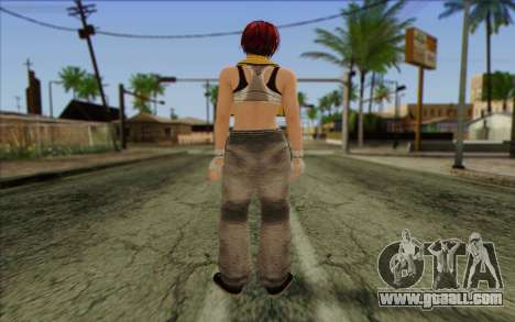 Mila 2Wave from Dead or Alive v16 for GTA San Andreas second screenshot