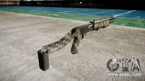 Ружьё Franchi SPAS-12 Carbon Fiber for GTA 4 second screenshot