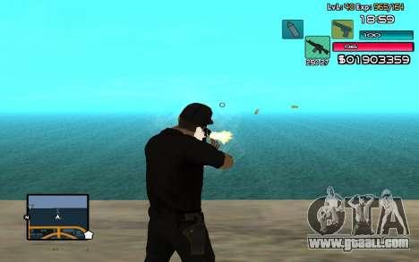 C-HUD by SampHack v.14 for GTA San Andreas third screenshot