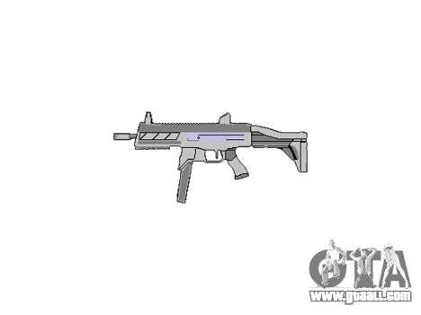 Gun SMT40 with butt icon3 for GTA 4 third screenshot
