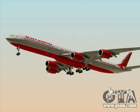 Airbus A340-600 Air India for GTA San Andreas left view