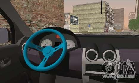 Dacia Logan 1.6 DJ for GTA San Andreas back left view