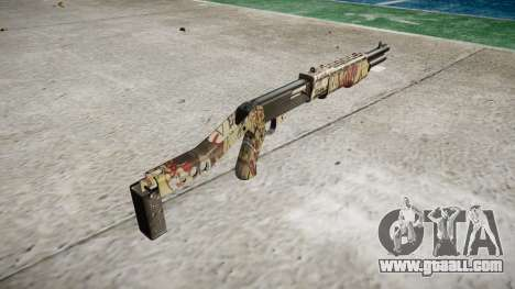 Ружьё Franchi SPAS-12 Ronin for GTA 4 second screenshot