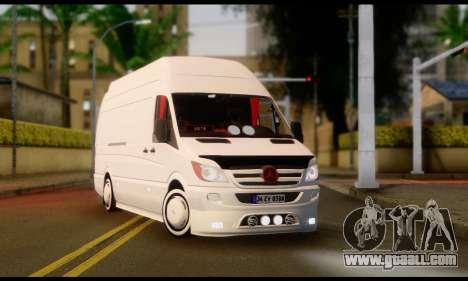 Mercedes-Benz Sprinter Panelvan for GTA San Andreas