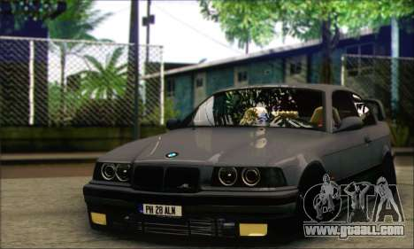BMW E36 Stanced for GTA San Andreas